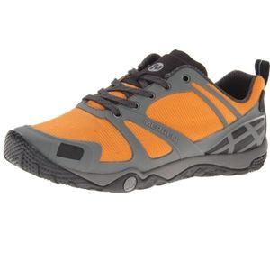 Merrell russet orange men's hiking shoes Size 9.5